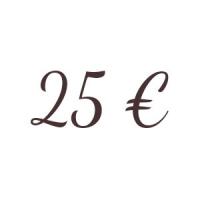 Bon de 25 €