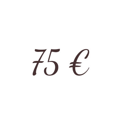 Bon de 75 €