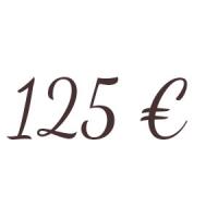 Bon de 125 €
