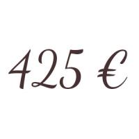 Bon de 425 €