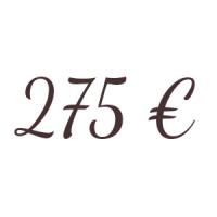 Bon de 275 €