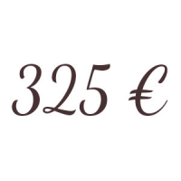 Bon de 325 €