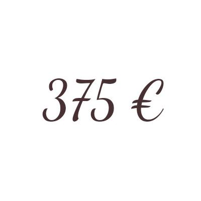 Bon de 375  €