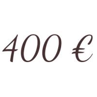 Bon de 400 €