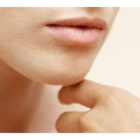 Menton/lèvre supérieure